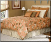 Tailored Dust Ruffle with Corded Edge Pillow Shams