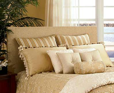 Bedcoverings Shams Bedskirts And Upholstered Headboards