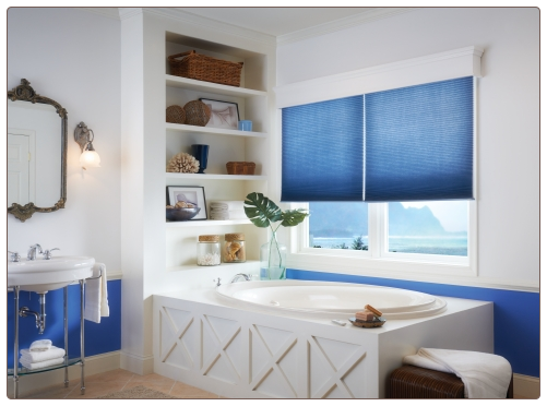 Corless Cellular Shades Room Scene
