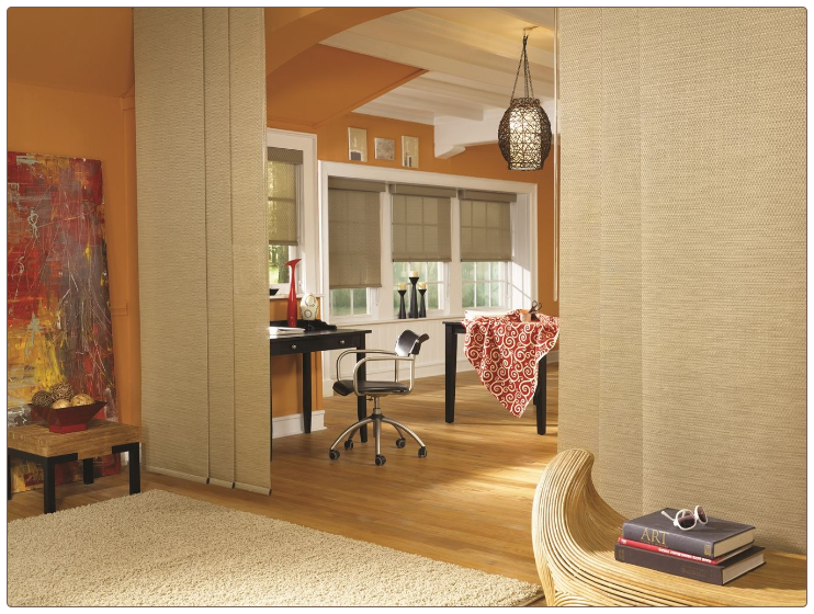 Graber Sliding Panels Room Scene
