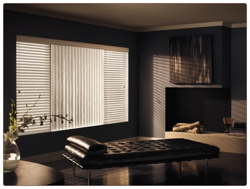 Graber Vertical Blinds Room Scene