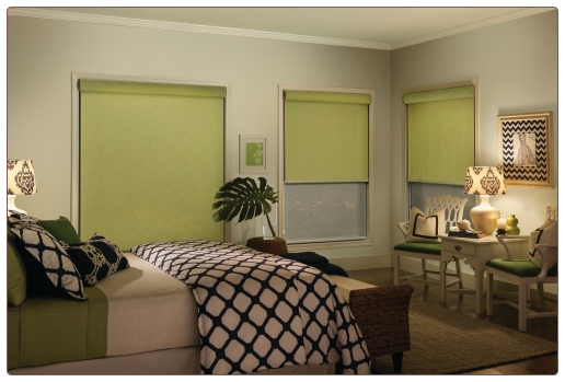 Graber Dual Shades Room Scene