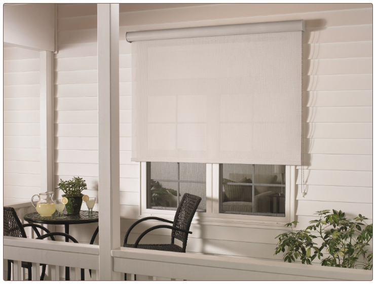 Graber solar shades for Motorized exterior solar shades